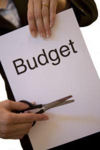 billede af budget